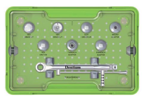 Caja de Prótesis de Superline de Dentium
